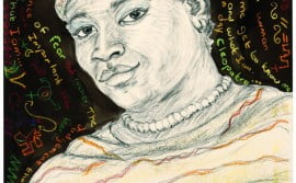 Portrait of Madam Jholerina Brina Timbo from Namibia