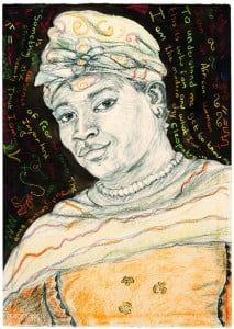 Portrait of Madam Jholerina Brina Timbo of Namibia