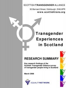 Experiences 2008 Survey front cover