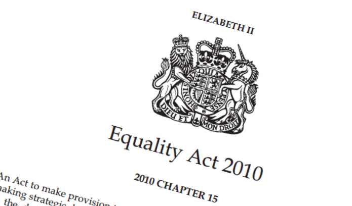 Front cover of the Equality Act 2010