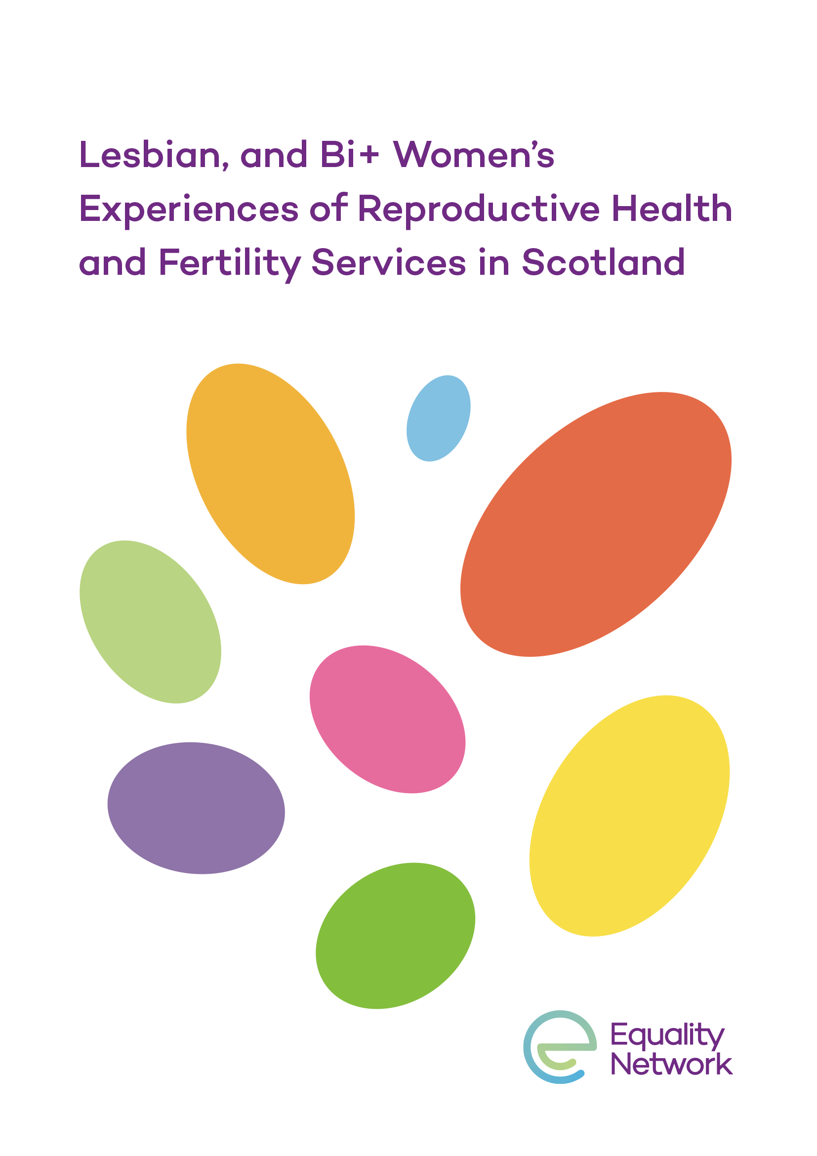 Lesbian, and Bi+ Women's Experiences of Reproductive Health and Fertility Services in Scotland